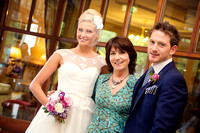 Maureen Walsh, newly appointed Wedding Planner at Ardilaun Hotel with models