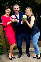 Mandy Maher of Catwalk Modelling Agency, Dáithí Ó Sé and Roisin Derran Make-up